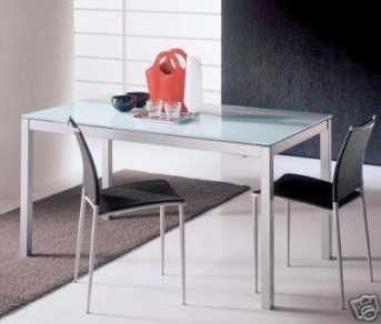 Tavoli cucina vetro e acciaio tavoli ovali allungabili design - Epierre