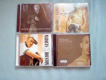 Foto: Proposta di vendita CD Hip-hop, rap, rnb - 4 CD´S VON MARQUES HOUSTON ( RNB ) IM SET - MARQUES HOUSTON