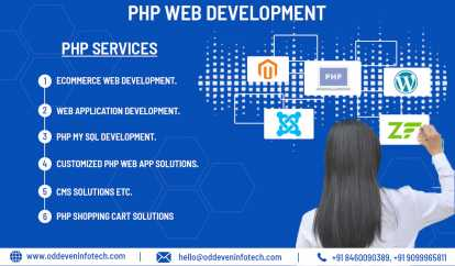 Foto: Offresi  PHP APPLICATION DEVELOPMENT COMPANY INDIA | PHP DE - GANDHINAGAR